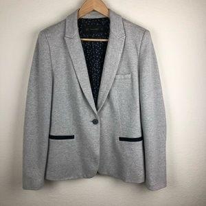 Zara Basic | One Button lined Blazer